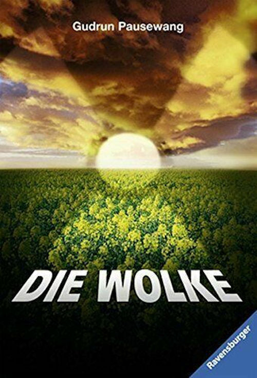 Die Wolke by Gudrun Pausewang.  An anti-nuclear novel about a fictitious accident in a real German nuclear power station at Grafenrheinfeld.