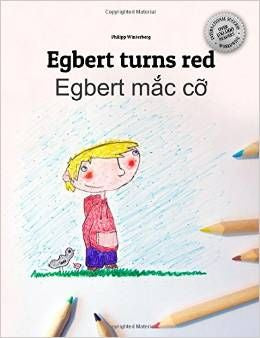Egbert turns red - Egbert mac co