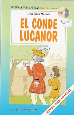 El Conde Lucanor book and cd