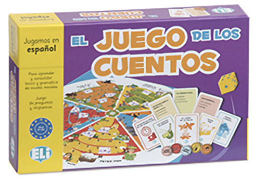 El Juego de los Cuentos - New Spanish game to learn and consolidate vocabulary and grammar - A1-A2.