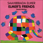 Elmer's Friends - Somali - English