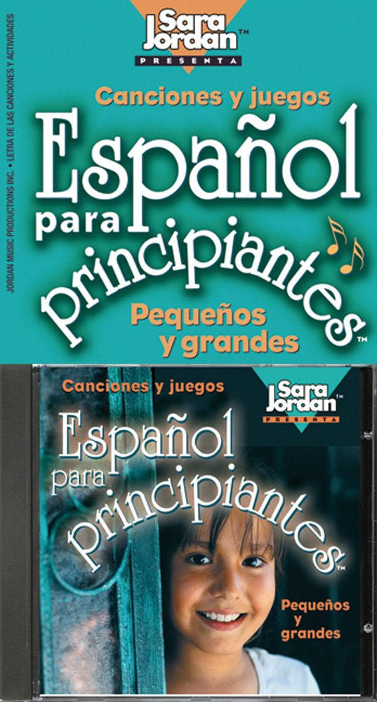 Español para Principiantes CD - Spanish for Beginners audio cd and booklet.