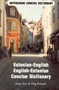 Estonian-English and English-Estonian Concise Dictionary