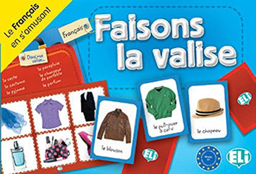 Faisons la Valise - Learn articles of clothing with this entertaining French board game.