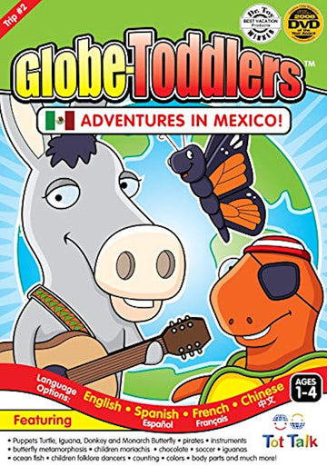 Globe-Toddlers - Adventures in Mexico