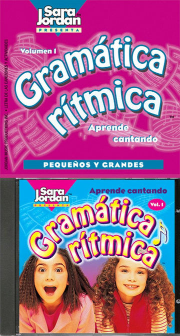 Gramática Rí­tmica CD and booklet