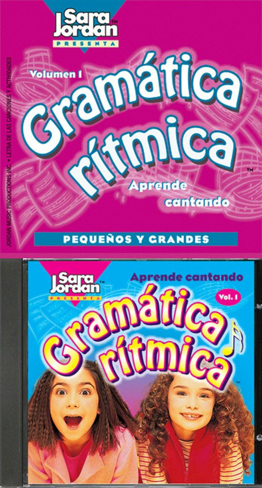 Gramática Rí­tmica CD and booklet - Ten upbeat Spanish grammar songs that teach basic grammar rules