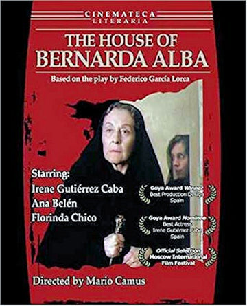 House of Bernarda Alba, The DVD