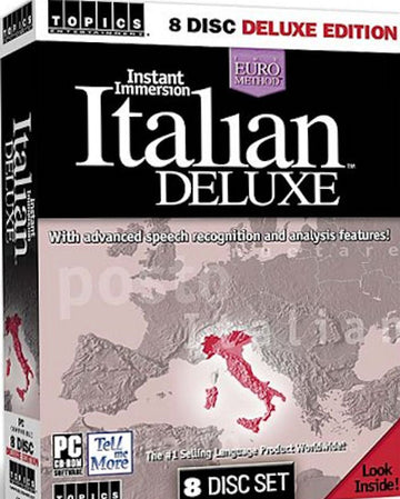 Instant Immersion Italian Deluxe