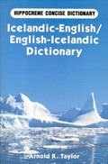 Icelandic-English and English-Icelandic Concise Dictionary