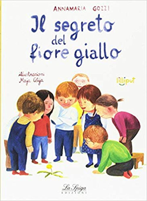Fiori Gialli A Spiga.Italian Books Italian Readers All In Italian All Levels