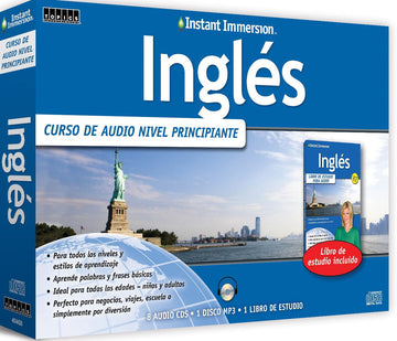 Instant Immersion Inglés Edición Audio Deluxe