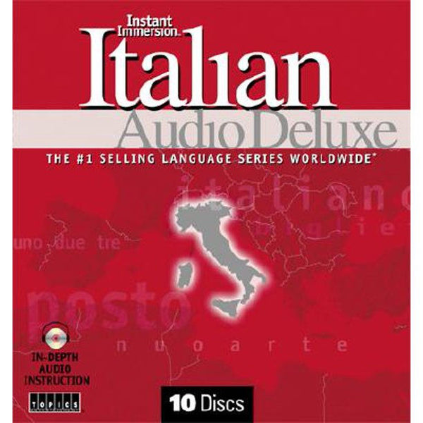 Instant Immersion Italian Audio Program Deluxe
