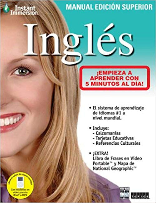 Instant Immersion Inglés Deluxe Workbook