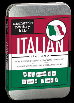 Italian Magnetic Poetry