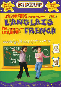 J'apprends L'Anglais - I'm Learning French vol. 2