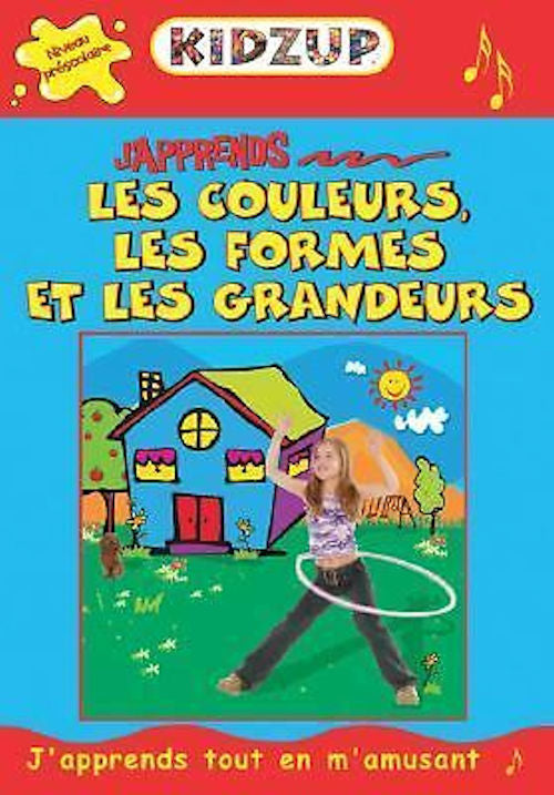 J'Apprends les couleurs, les formes et les grandeurs - Ages 5 and up. With this booklet, CD and CD-ROM - children will learn basic concepts of colors, shapes and sizes in French