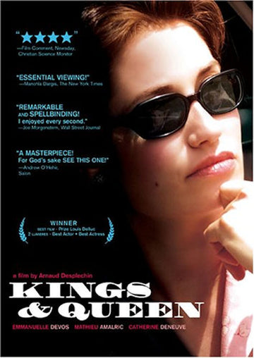 Kings and Queen (Rois et Reine) DVD