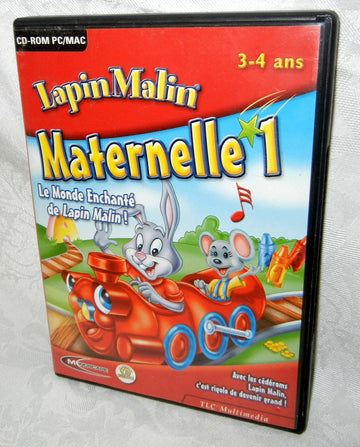 Lapin Malin Maternelle 1 - 2-4 ans