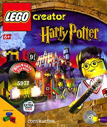 Harry Potter creator Lego CD-ROM in German