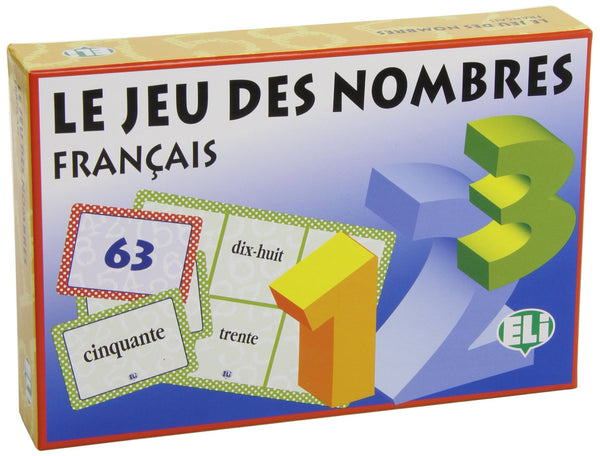 Le Jeu des Nombres - French game to teach numbers to beginning students.
