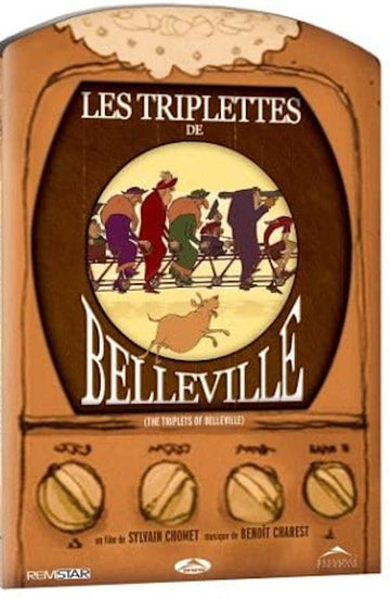 Triplettes of Belleville DVD