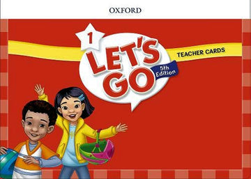 Let's Go - Level 1 - Teacher Cards