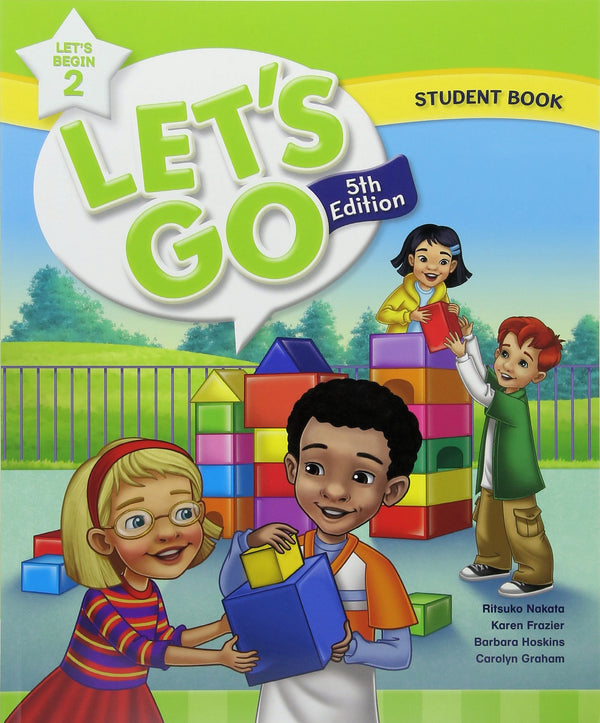Let's Begin Level 2 - Student Book 5th Edition.  Let's Begin introduces the alphabet, basic phonics, and simple language structures