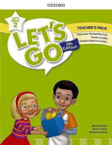 Let's Begin Level 2 - Teacher's Pack 5th Edition.  Teacher's Pack includes Classroom Presentation Tool, Teacher's Guide and Teacher's Resource Center