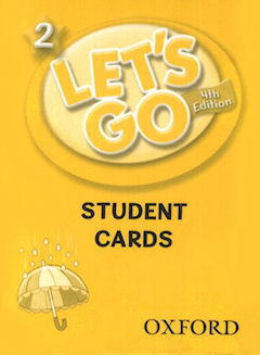 Let's Go - Level 2 - Student Cards