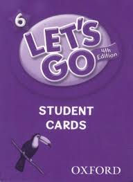 Let's Go - Level 6 - Student Cards