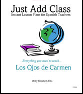 Level 3 - Ojos de Carmen, Los teacher's guide