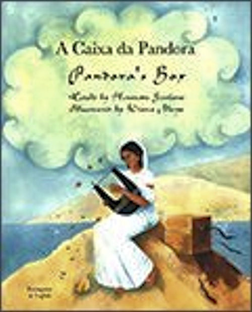 A Caixa da Pandora - Pandora's Box - Bilingual Portuguese edition - retold by Henriette Barkow and illustrated by Diana Mays.Zeus bestows upon Pandora the gifts of the gods