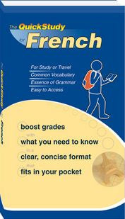 Quick Study French Booklet