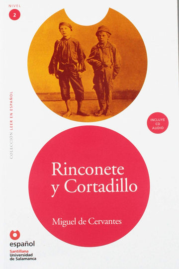 Level 2 - Rinconete y Cortadillo book and cd