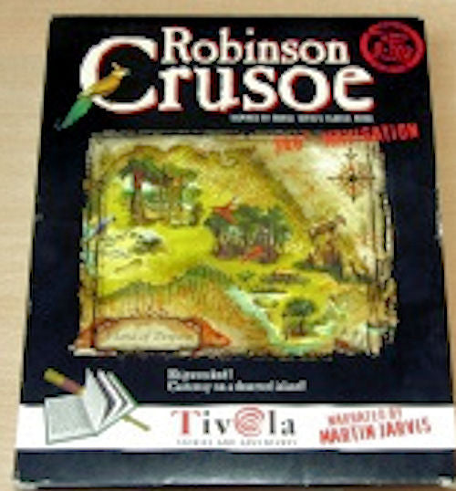 Robinson Crusoe - Ages 8 - 18. This interactive program is based on the classic book by Daniel Defoe, all in German.