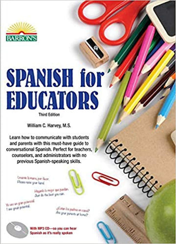 Spanish for Educators with mp3 CD