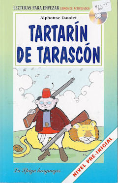 Tartarí­n de Tarascón - book and cd