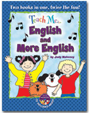 Teach Me English and Teach Me More English combo