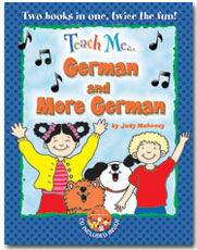 Teach Me German and More German CD and Booklet