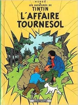 Tintin L'Affaire Tournesol Tome # 18
