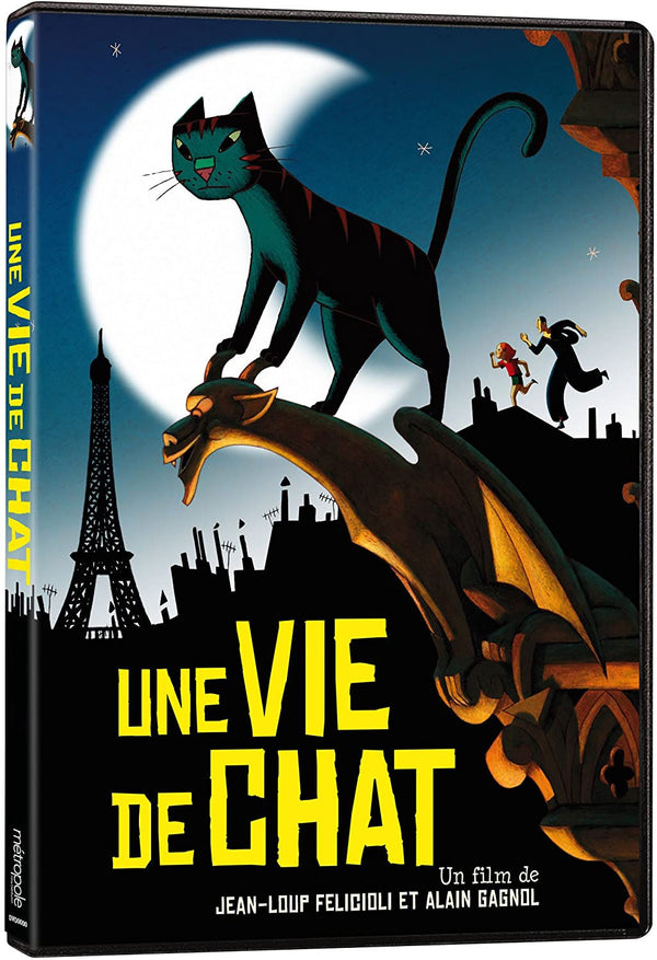 Une Vie de Chat - A Car in Paris DVD