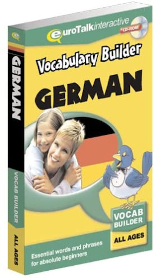 Vocabulary Builder German