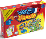 Voyage en France - A classic board game in French (Level A2-B1)