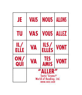 French Tactic*Grams® Aller