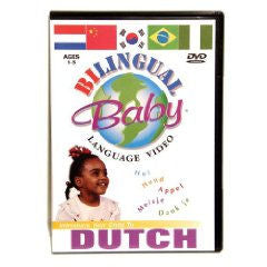 Bilingual Baby Dutch DVD