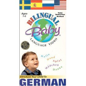 Bilingual Baby German DVD