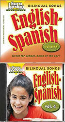 Bilingual Songs CD English - Spanish volume 4