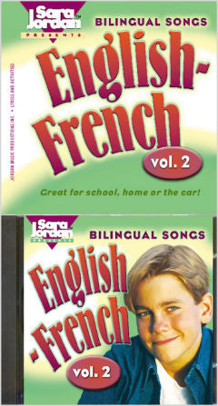 Bilingual Songs - English - French - volume 2