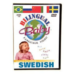 Bilingual Baby Swedish DVD Volume 10